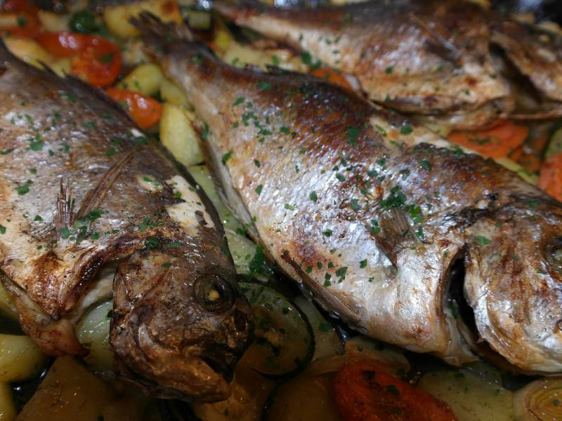 Sea Bream Food